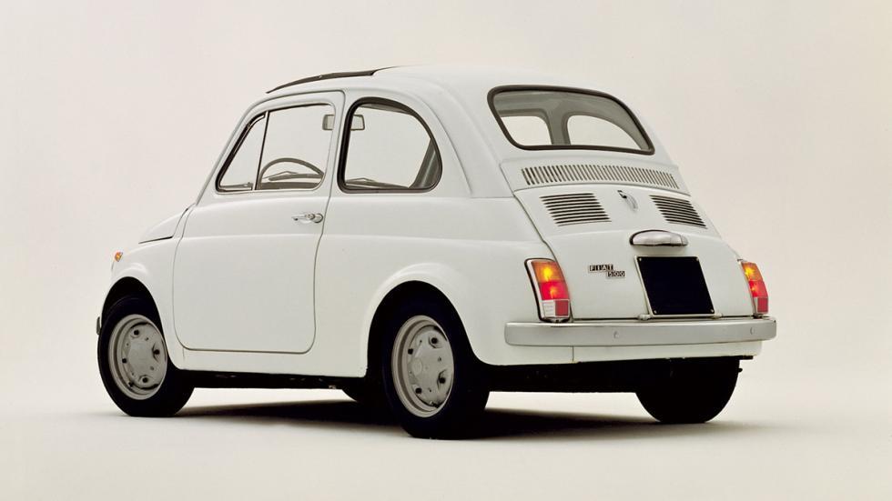 coches menos potentes historia Fiat Nouva 500 zaga