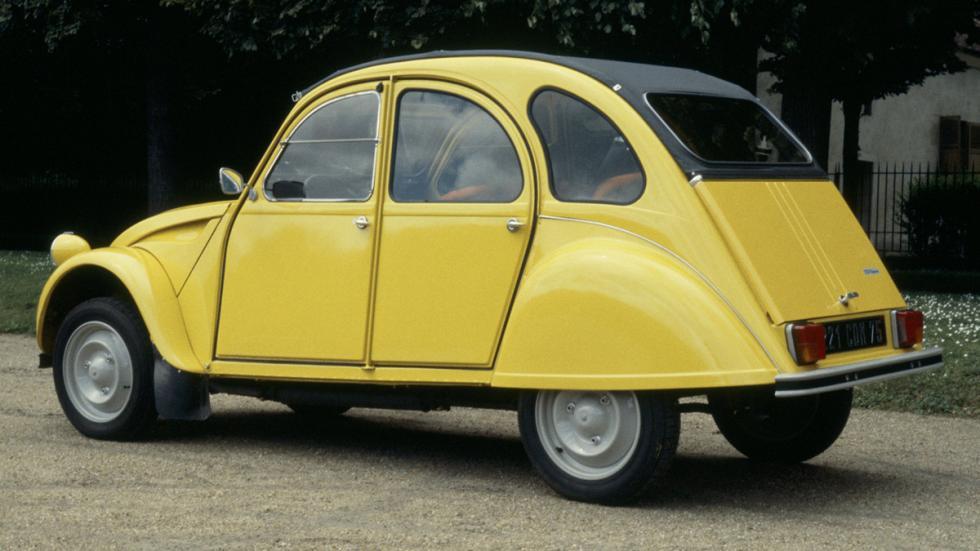 coches menos potentes historia Citroën 2CV zaga
