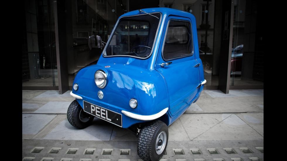 coches menos potentes historia Peel P50