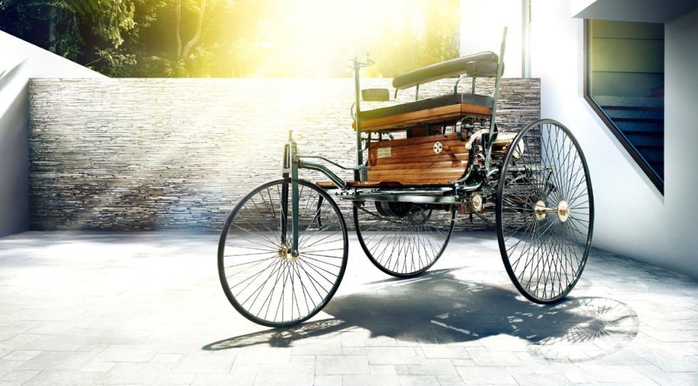 coches menos potentes historia Benz Patent Motorwagen