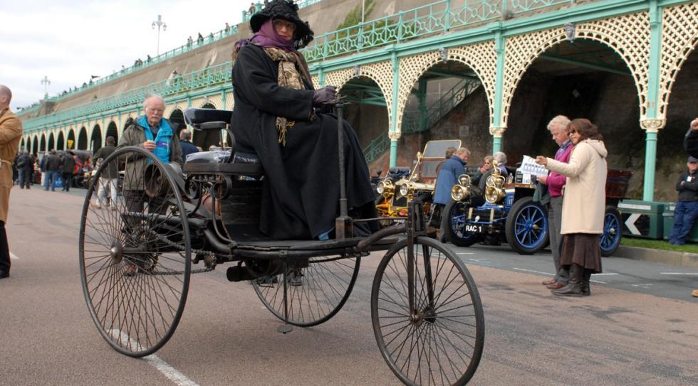 coches menos potentes historia Benz Patent Motorwagen morro