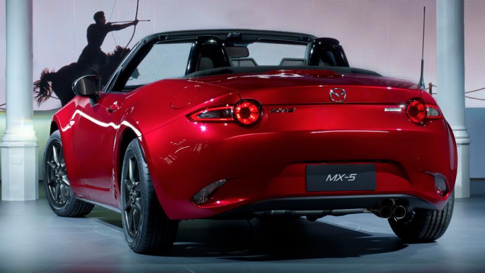 Mazda MX-5 trasera
