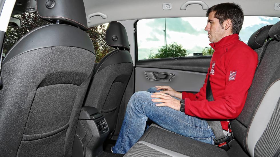 Seat León X-Perience plazas traseras