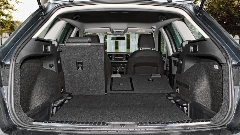 Seat León X-Perience maletero