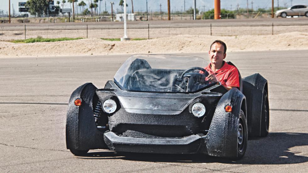 El primer coche impreso en 3D que funciona de verdad