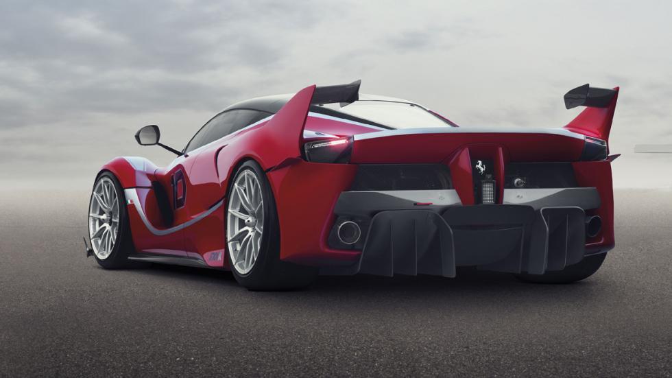 deportivos radicales 2014 Ferrari FXX K trasera
