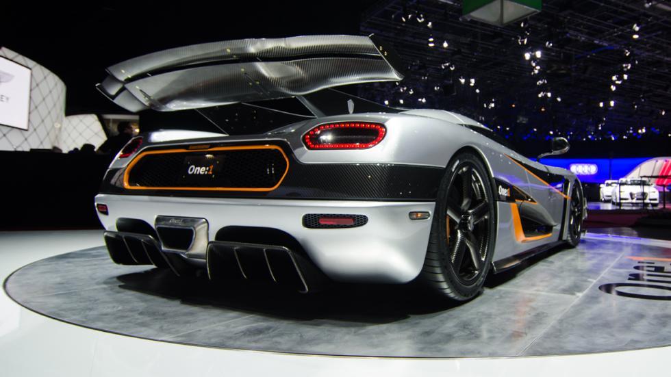 deportivos radicales 2014 Koenigsegg One:1 zaga