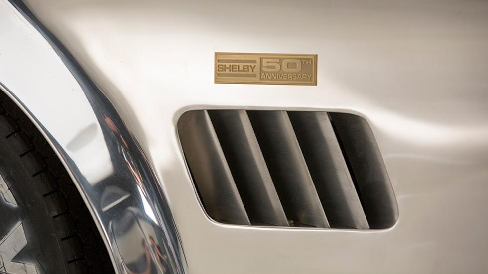 Shelby Cobra 427 50 Aniversario placa