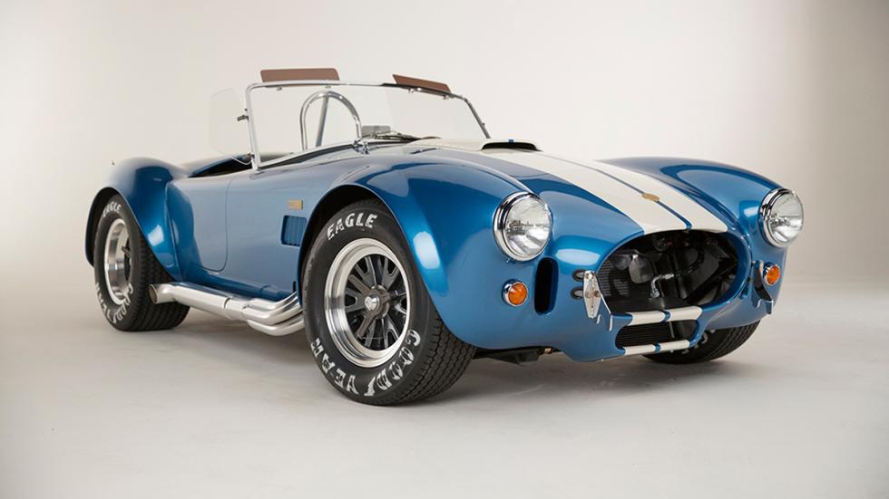 Shelby Cobra 427 50 Aniversario frontal azul