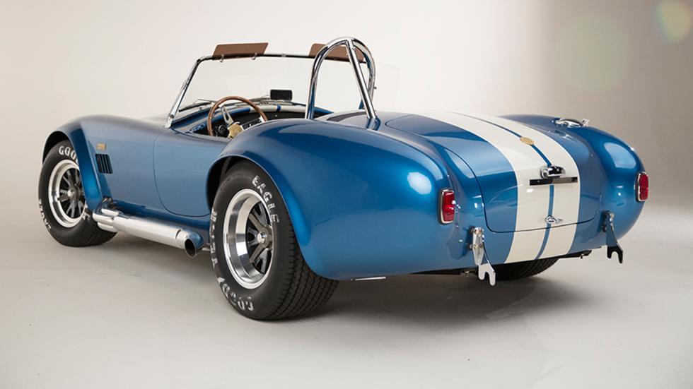 Shelby Cobra 427 50 Aniversario trasera azul