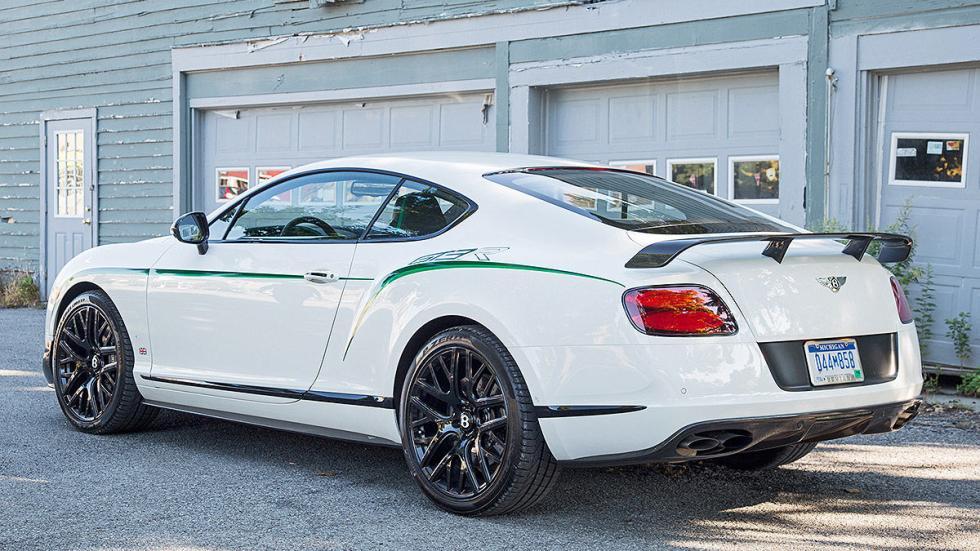 Bentley GTR-3 detalle zaga