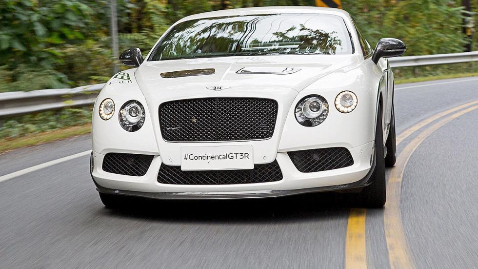 Bentley GTR-3 detalle morro