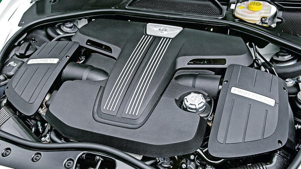 Bentley GTR-3 detalle motor