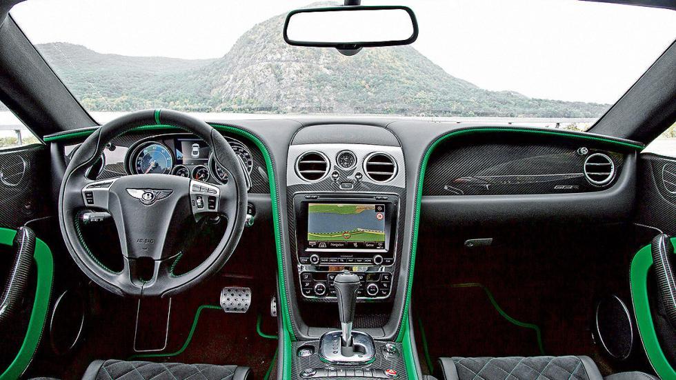 Bentley GTR-3 detalle salpicadero