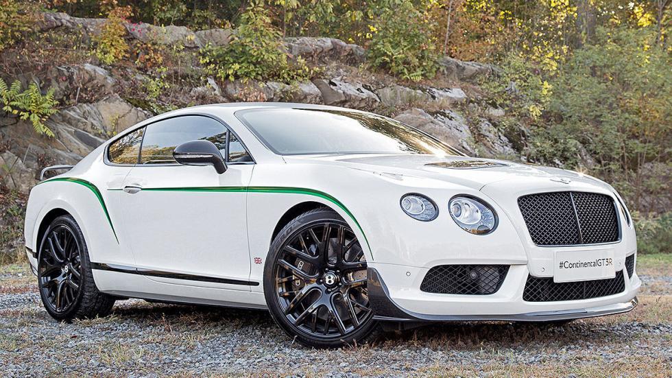 Bentley GTR-3 detalle tres cuartos
