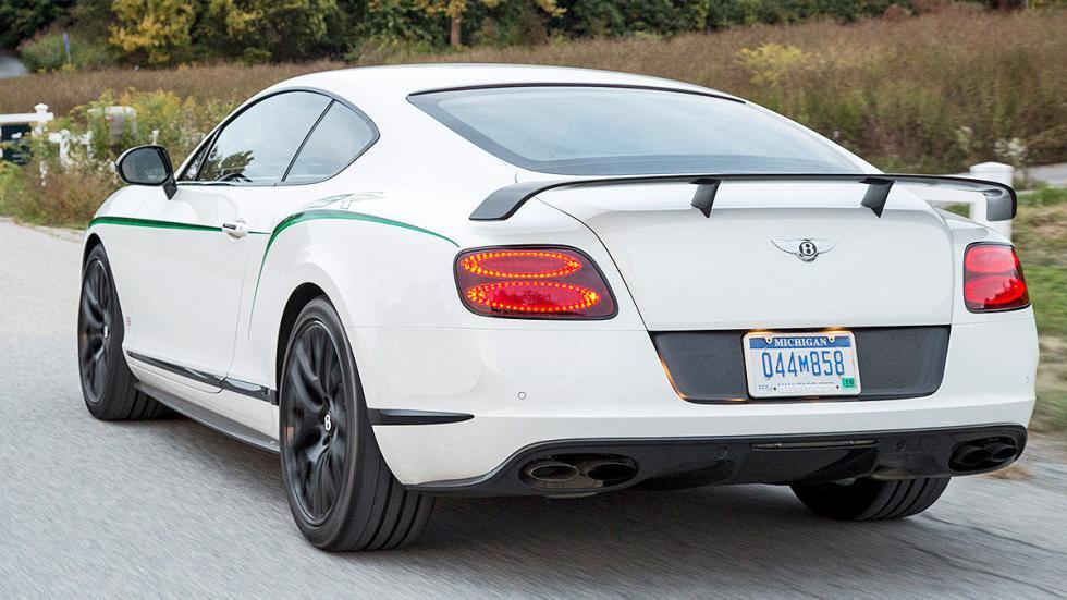 Bentley GTR-3 detalle tres cuartos zaga