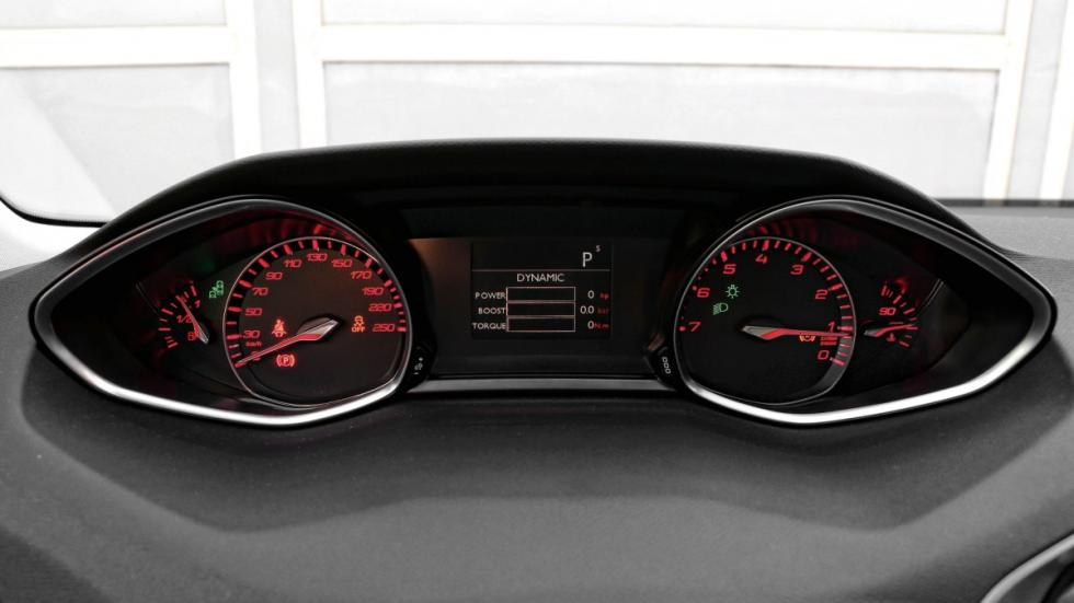 Peugeot 308 relojes
