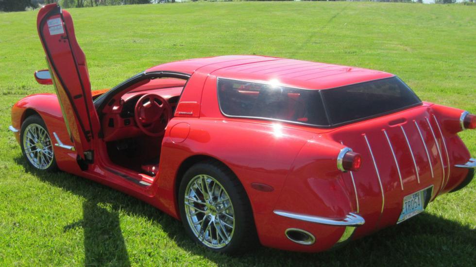 Corvette Nomad Wagon trasera