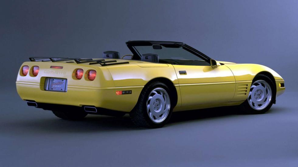 comprar coches antes revaloricen Chevrolet Corvette C4 zaga