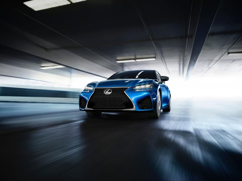 Lexus GS-F 2015 - Movimiento