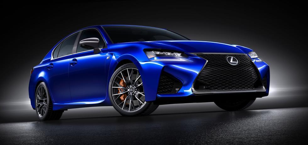 Lexus GS-F 2015 - Frontal