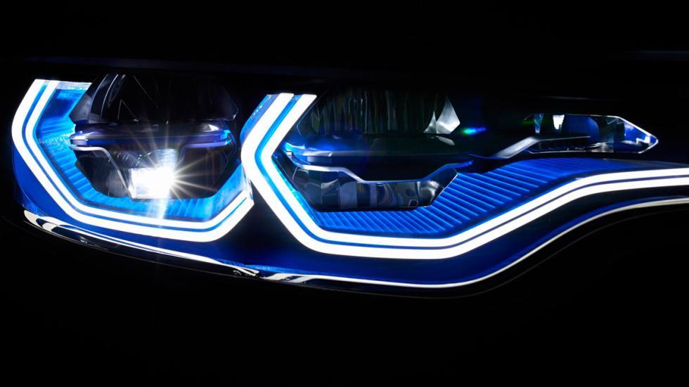 BMW M4 Iconic Lights Concept faros
