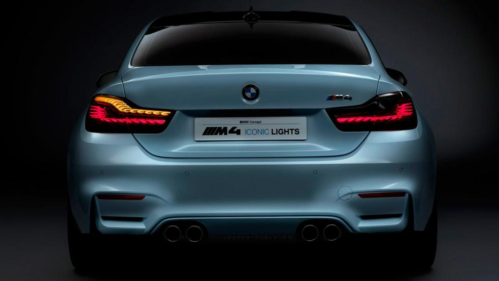 BMW M4 Iconic Lights Concept trasera