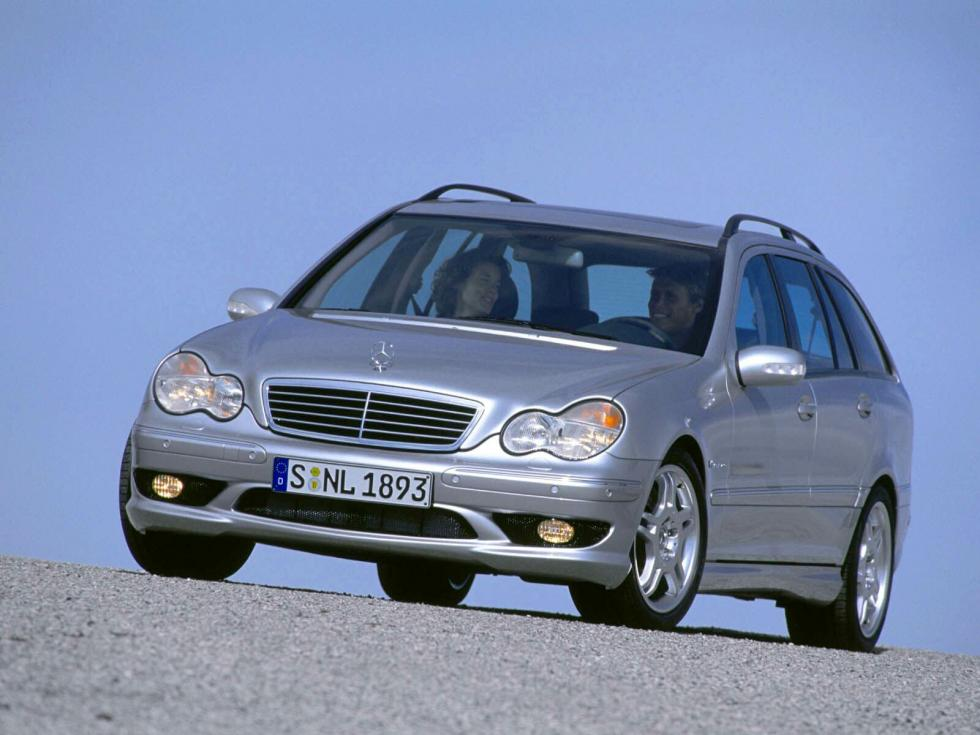 Mercedes C55 AMG Estate - Frontal