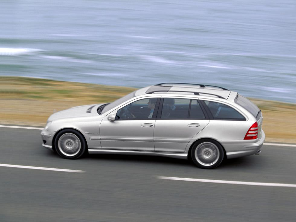 Mercedes C55 AMG Estate - Lateral