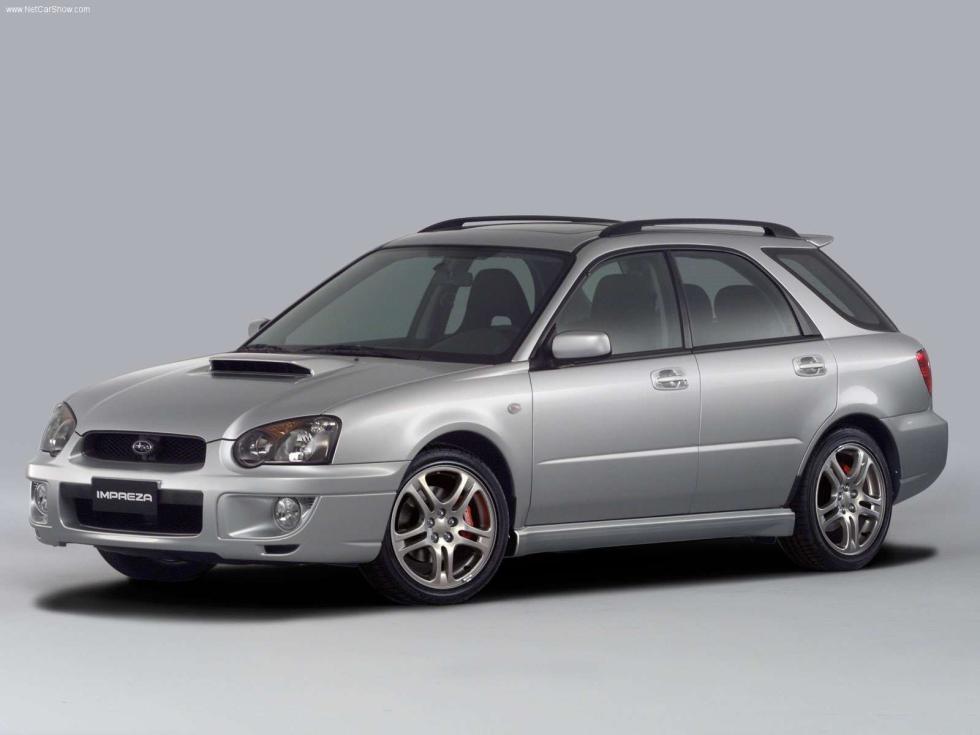 Subaru Impreza WRX Wagon - Frontal