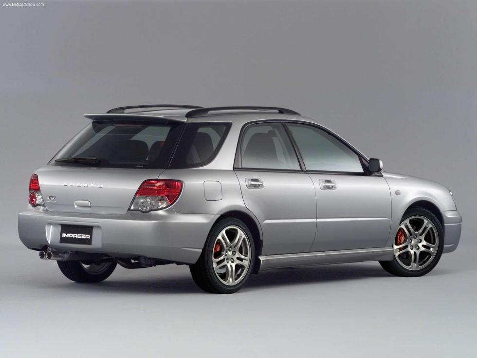 Subaru Impreza WRX Wagon - Trasera