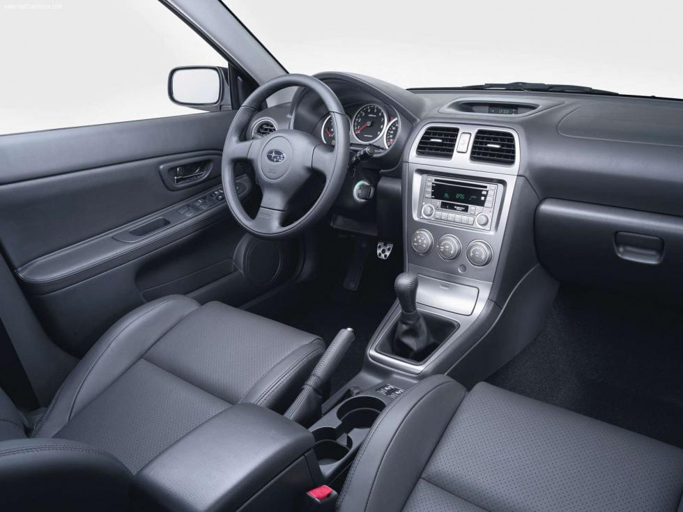 Subaru Impreza WRX Wagon - Interior