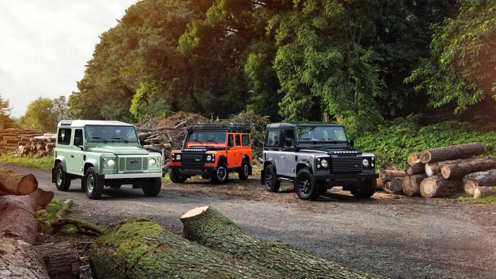 Land Rover Defender Celebration Series