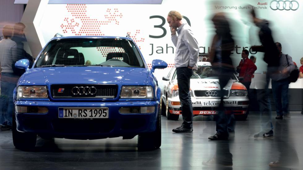 coches 1990 deberías probar Audi RS2 morro