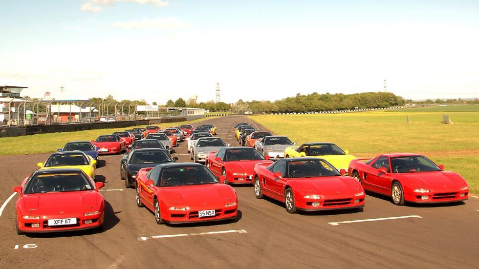 coches 1990 deberías probar Honda NSX grupo