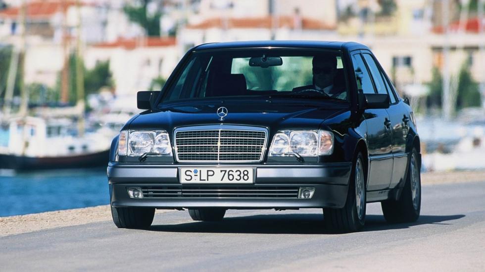 coches 1990 deberías probar Mercedes 500E