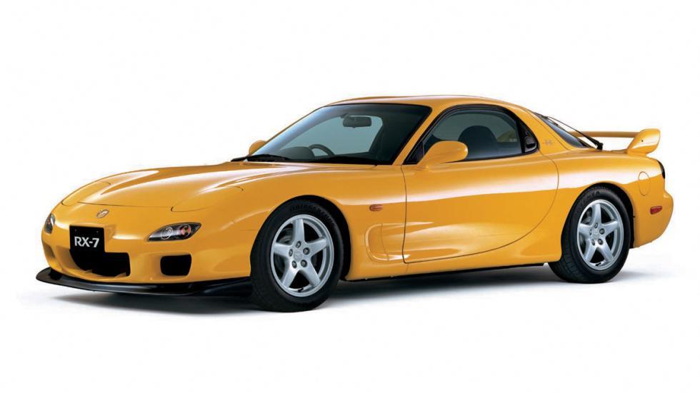 coches 1990 deberías probar Mazda RX7