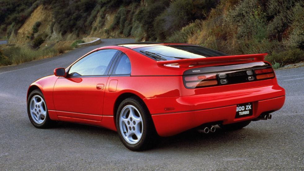 coches 1990 deberías probar Nissan 300ZX zaga