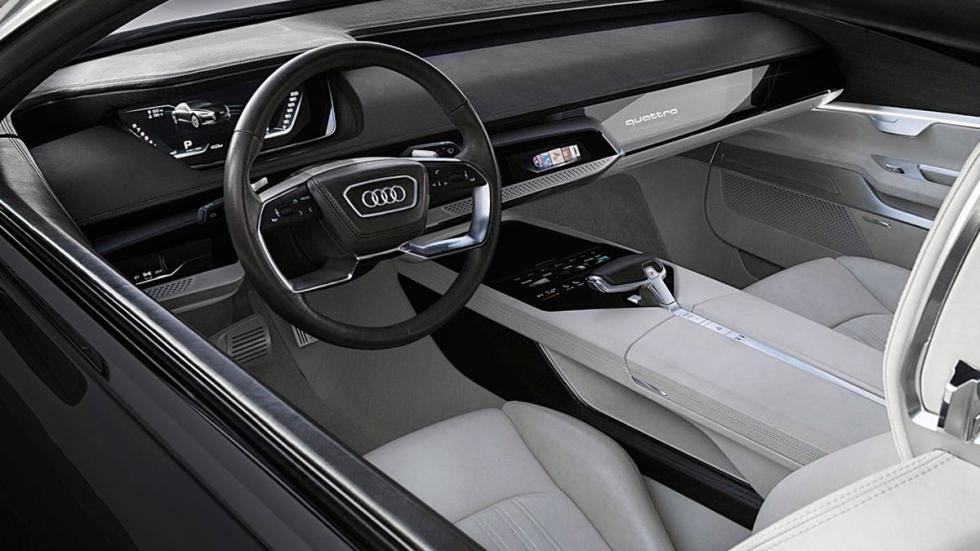Audi Prologue Piloted Driving Concept interior