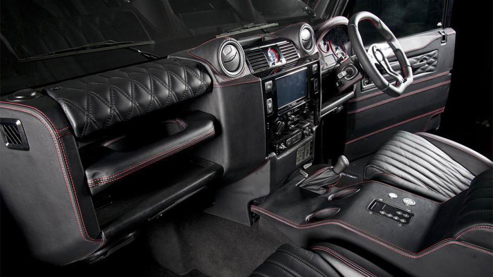 Land Rover Defender Ultimate RS detalle interior