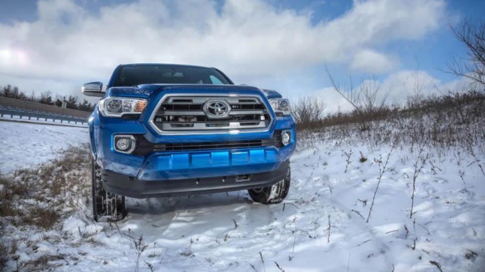 Toyota Tacoma 2016 frontal