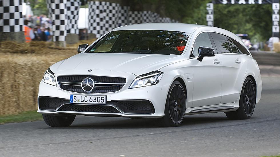 mejores familiares deportivos Mercedes-AMG CLS 63 Shooting Brake