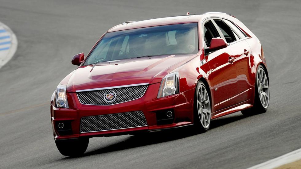 mejores familiares deportivos Cadillac CTS-V Wagon