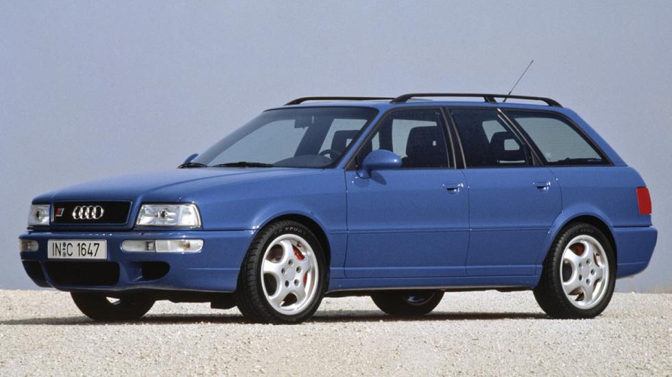 mejores familiares deportivos Audi RS2 Avant