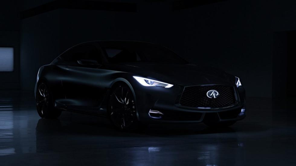 Infiniti Q60 Concept nocturna