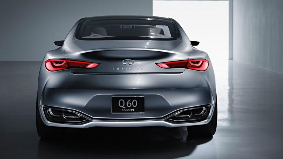 Infiniti Q60 Concept trasera
