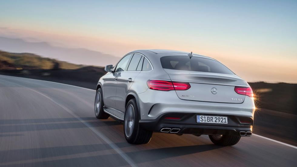 Mercedes GLE 63 AMG Coupé trasera