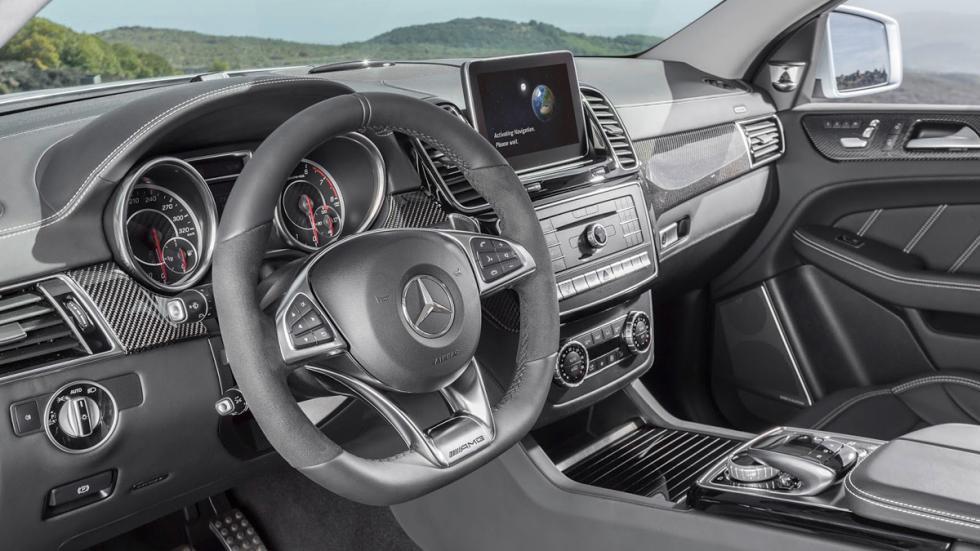 Mercedes GLE 63 AMG Coupé interior