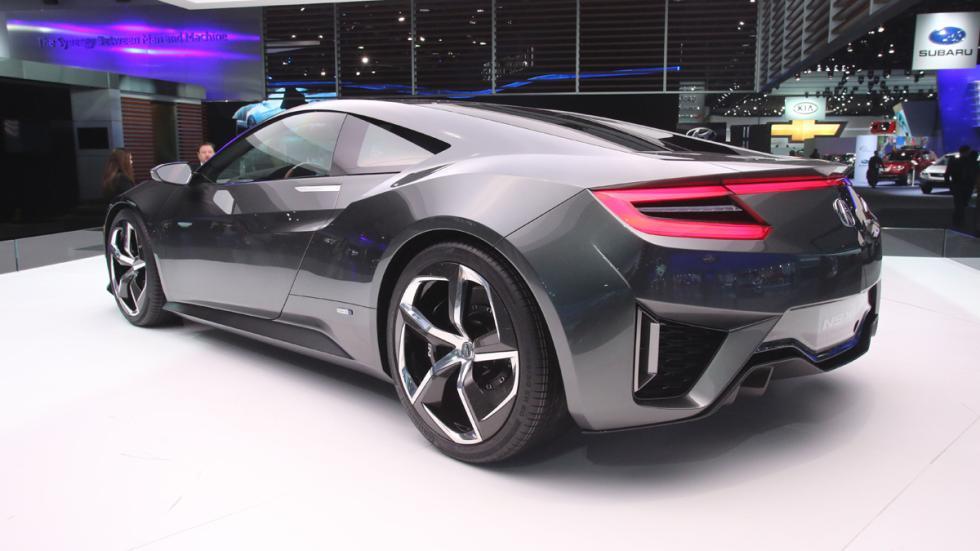 coches más esperados 2015 Honda NSX zaga
