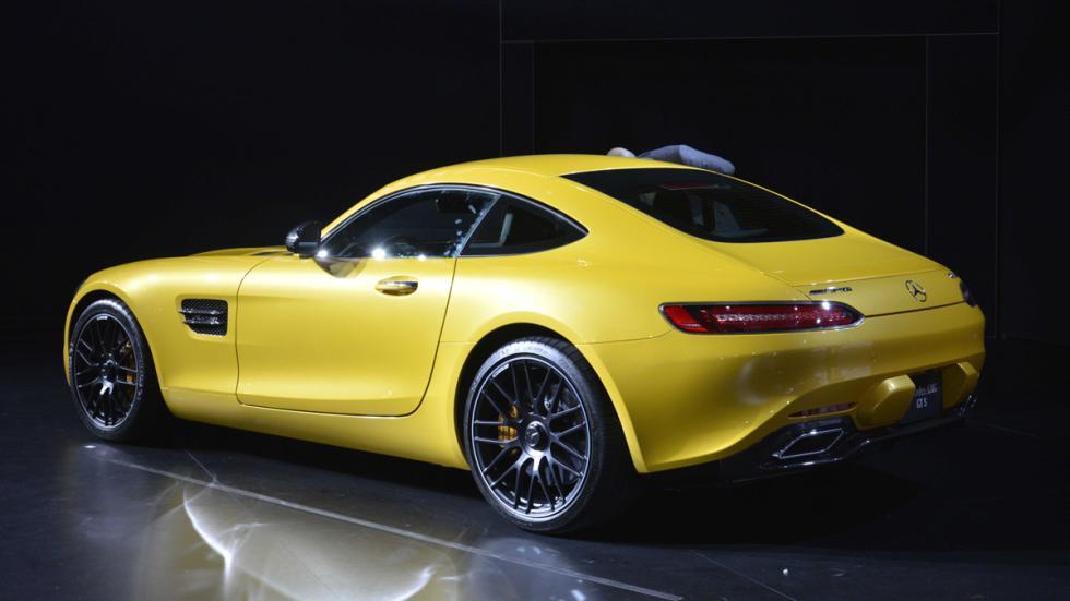coches más esperados 2015 Mercedes-AMG GT